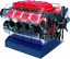 Playz-V8-Combustion-Engine-Model-Building-Kit-STEM-Hobby-Toy-for-Kids-amp-Adults-amp thumbnail 1