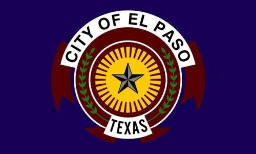 Aufkleber El Paso Flagge Fahne 15 x 10 cm Autoaufkleber Sticker
