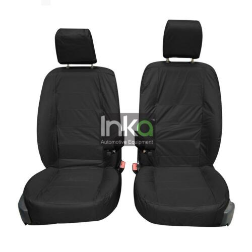 Land Rover Discovery 4 Front Inka Tailored Waterproof Seat Covers Black 09-16