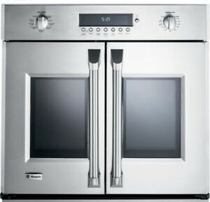 """GE Monogram ZET1FHSS 30"""" Stainless French Door Single Wall Oven New Open Box"""
