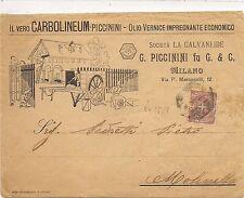 P220  MILANO  VETRO CARBOLINEUM  G. PICCININI