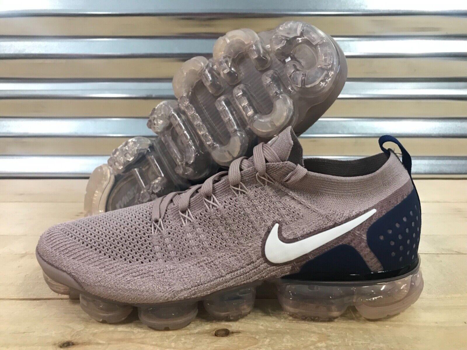Nike Nike Nike Air Vapormax Flyknit 2 Running schuhe Diffused Taupe Blau SZ ( 942842-201 ) 22177b