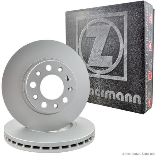 Zimmermann Bremsscheiben Satz Seat Mii Skoda Citigo VW UP 1.0 Vorne