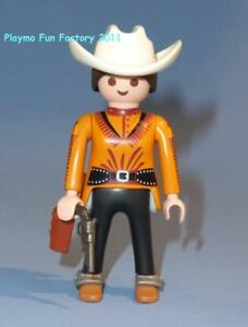 Playmobil-Cow-Girl-Ranch-main-Series-15-femelle-Western-figure-nouvelle-version-70026