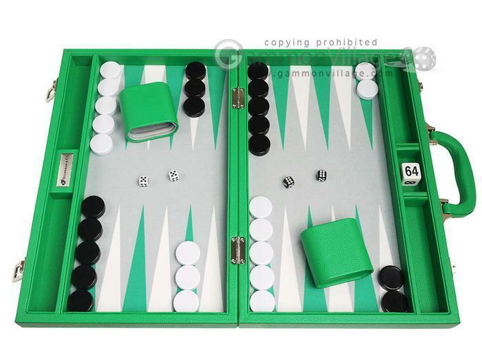 soporte minorista mayorista Prima de 16 pulgadas Backgammon Set-verde Board, juegos de backgammon backgammon backgammon  la mejor oferta de tienda online