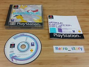 Sony-Playstation-PS1-Wipeout-PAL