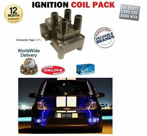 FOR-FORD-FIESTA-2-0i-ST150-150BHP-2005-6-2008-NEW-HT-IGNITION-COIL-PACK-1350567
