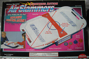 Hilco Air Slammers Dessus De Table Air Hockey-non Utilisé-afficher Le Titre D'origine Soyez Amical Lors De L'Utilisation