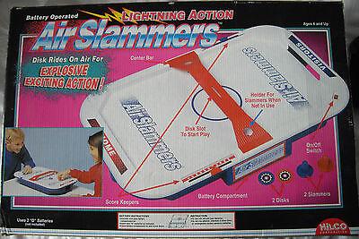 Inventivo Hilco Air Slammers Tavolo Air Hockey-mai Usate-mostra Il Titolo Originale Alleviare Reumatismi E Freddo