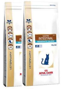 2x 4kg Royal Canin Gastro Intestinal Modéré Calorie Gim 35 Régime Daim Pour Chat Bravam