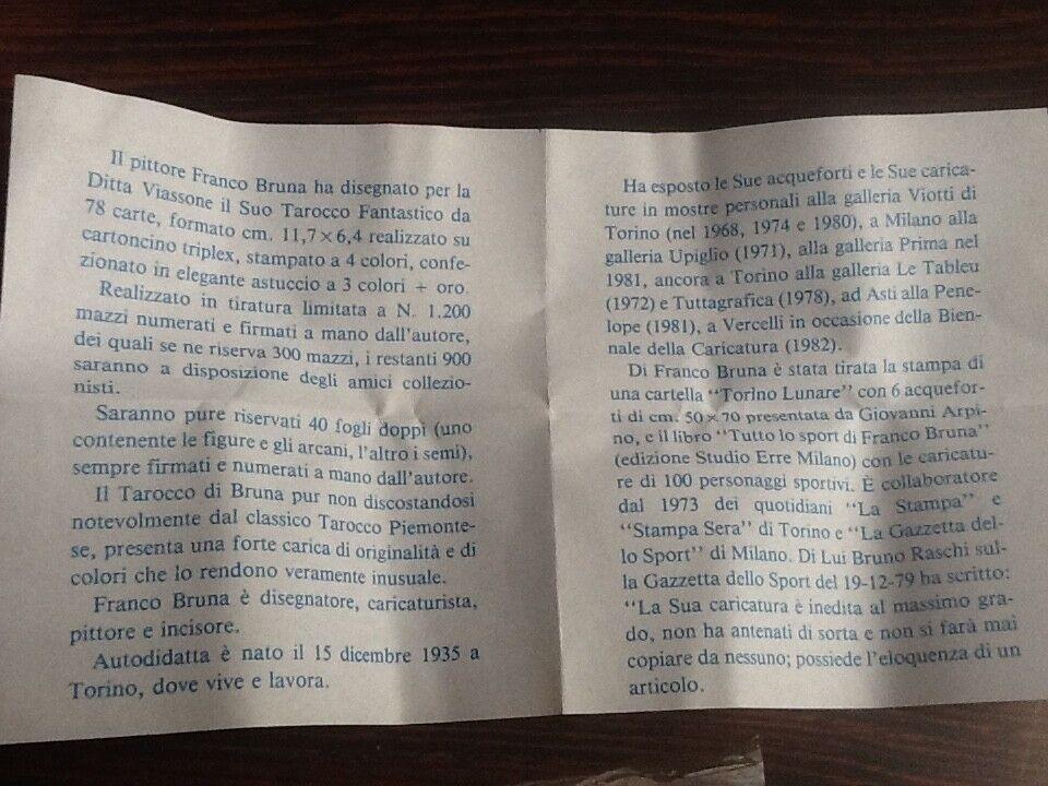 Franco Bruna Viassone Tared Tared Tared L.E. 203 1200 1982 ce4f22