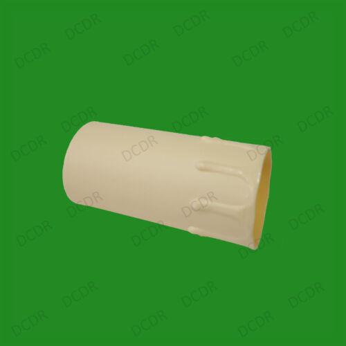 4 X Creme Abtropft Kerzenwachs Effekt Kronleuchter Licht Birnen Abdeckhülse 85mm