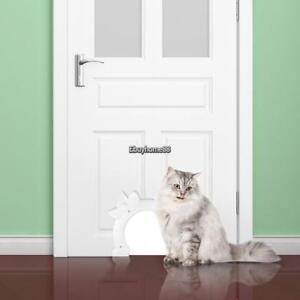 Cat Door The Kitty Pass Interior Cat Door Small Pet Dog Door Hidden Litter Box