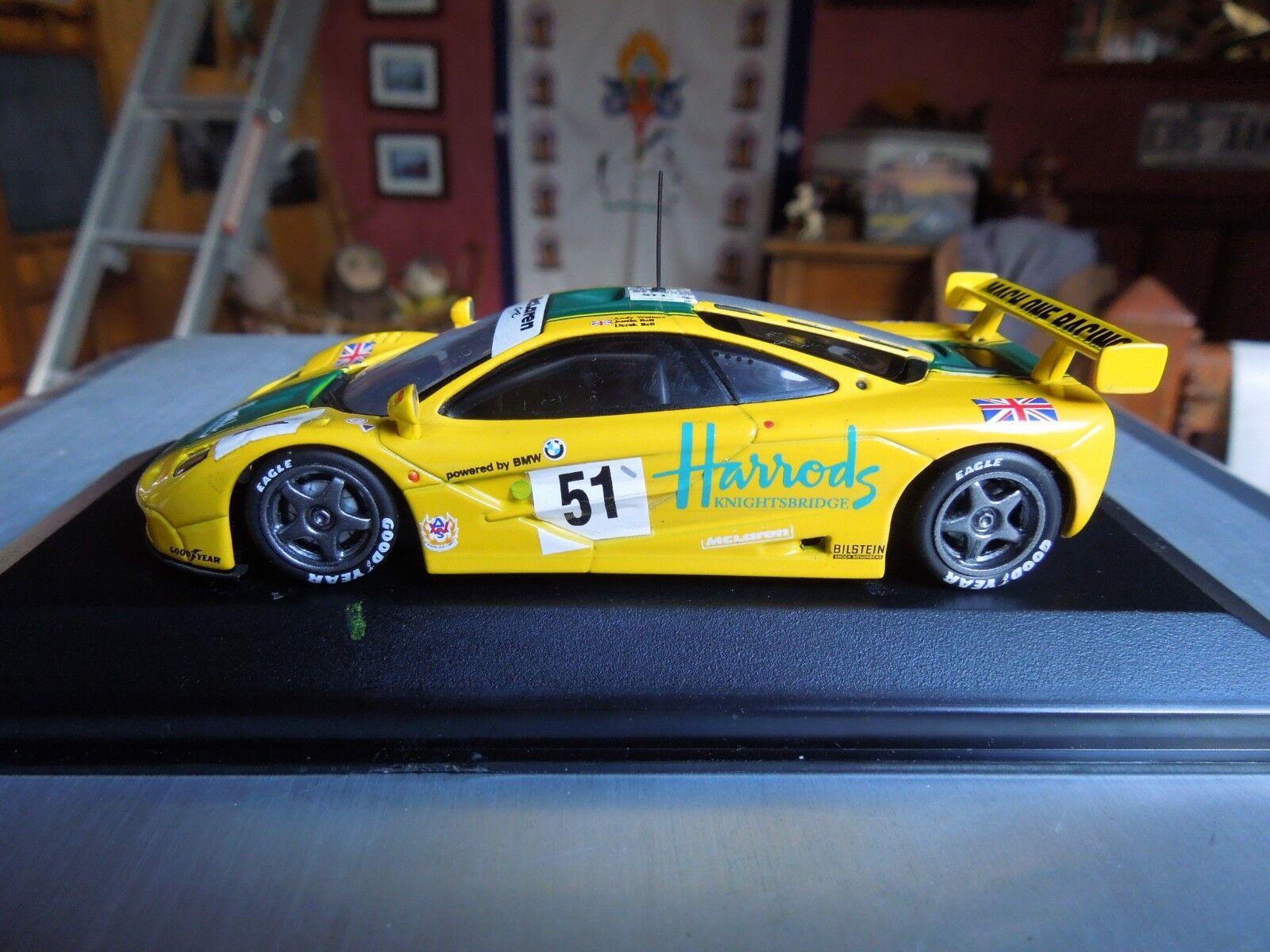 MINICHAMPS McLAREN  F1 GTR   51 WALLACE  BELL BELL 24H DU MANS LM 1995