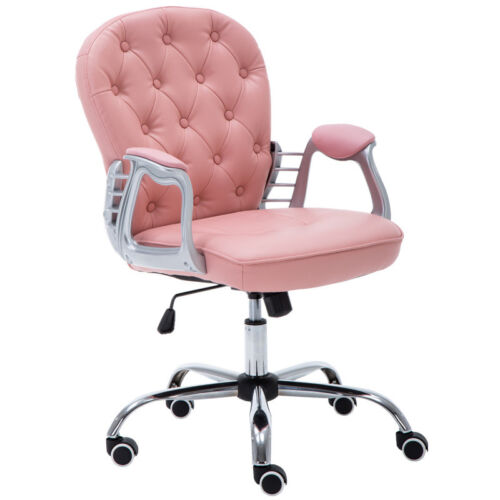 Modern Button Tufted Back Office Rock 360° Chair Meeting Conference Room Visitor