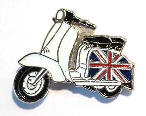 NUEVO-Gb-Britanico-Union-Bandera-en-SCOOTER-Modelo-Metal-SCOOTERIST-MOTO
