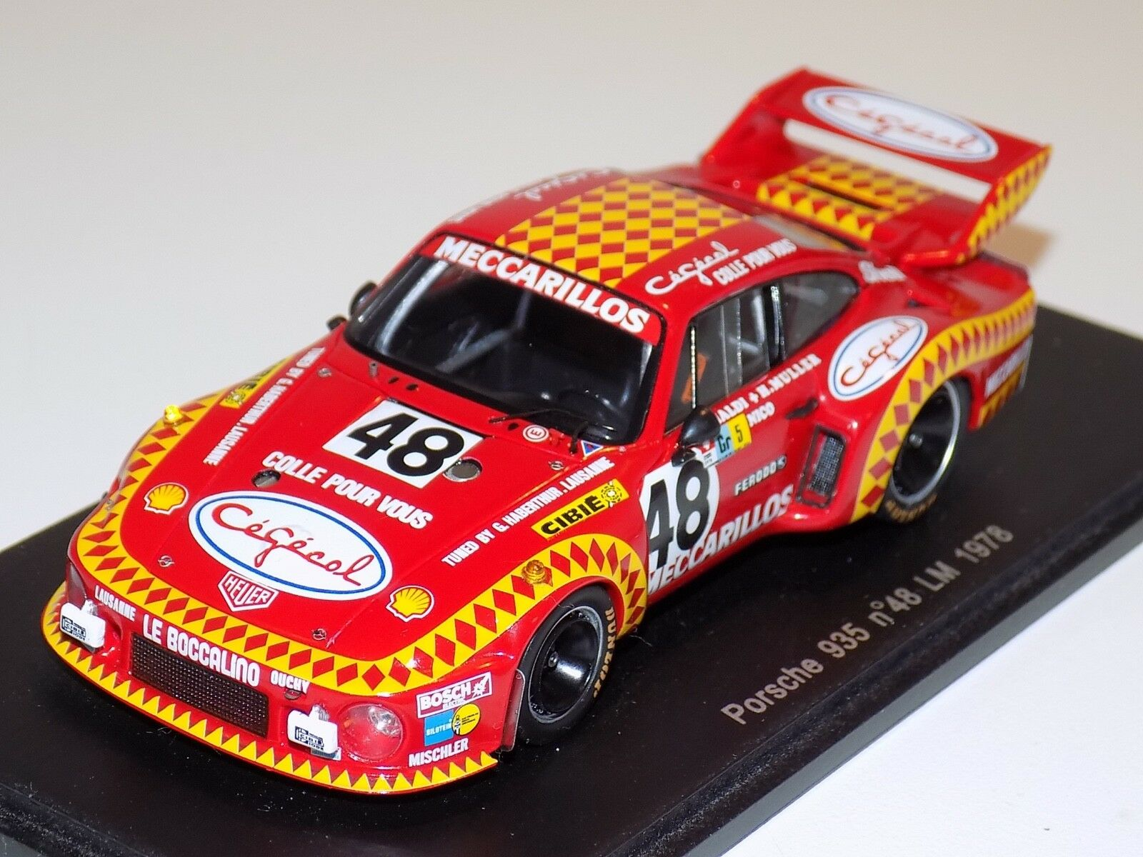 1 43 Spark Porsche 935 Car  48 1978 24 H of LeMans S2013