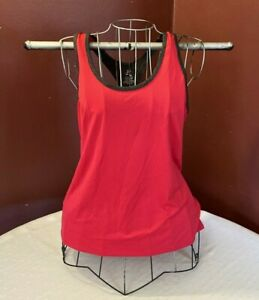 Energy-Zone-women-039-s-active-wear-top-size-L-92-polyester-8-spandex-red