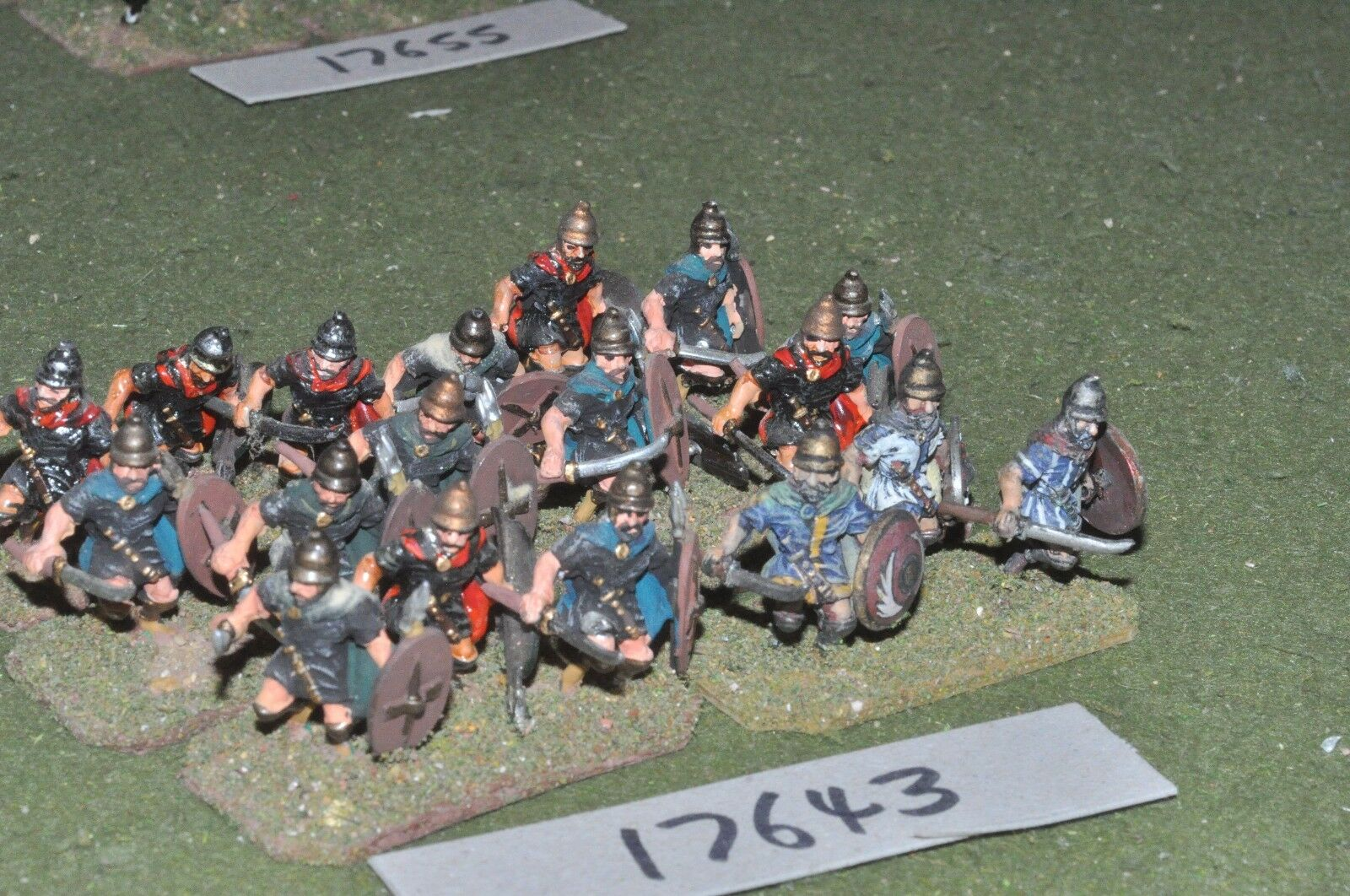 25mm classical   thracian - warriors 18 figs - inf (17643)