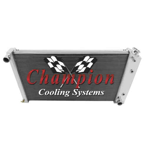 """3 Row Reliable Champion Radiator 17/""""x28/"""" Core for 1968-1977 Chevrolet Chevelle"""