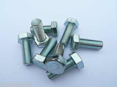 3//8TH X 3//4 IN BOLTS SET OF TEN 26 TPI CEI BZP