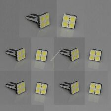 100X T10 PCB 194,W5W,168 4 SMD 5050 LED Bright White Car Light Lamp Bulb DC 12V