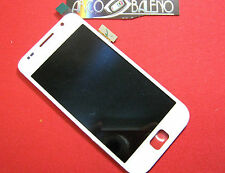 Kit DISPLAY LCD +TOUCH SCREEN per SAMSUNG GALAXY S GT i9000 Vetro Vetrino Bianco