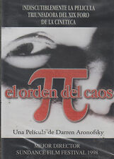 DVD - El Orden Del Caos NEW Pelicula De Darren Aronofsky FAST SHIPPING !