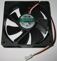 Avc 80 Mm Cooling Fan W/ 3 Pin Connector - 12 V Dc - 52 Cfm - 2800 Rpm - 7 Blade