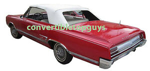 Details about OLDSMOBILE CUTLASS, F-85 & 442 CONVERTIBLE TOP PACKAGE with  parts 1964-1965