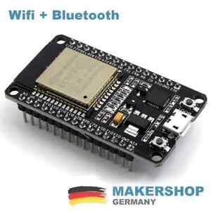 Espressif-ESP32-WLAN-Dev-Kit-Board-Development-Bluetooth-Wifi-v1-WROOM32-NodeMCU