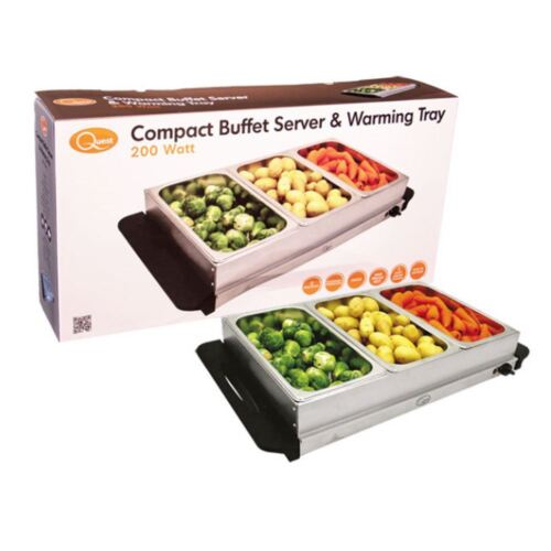 Nouveau Compact buffet server et réchauffement climatique plateau Restaurant Food Hot chauffe-Serving