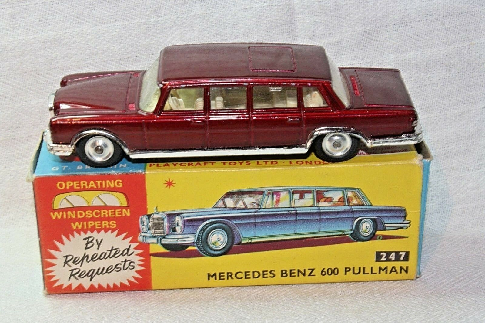 Corgi Mercedes Pullman, Near Mint in Superb Original Box