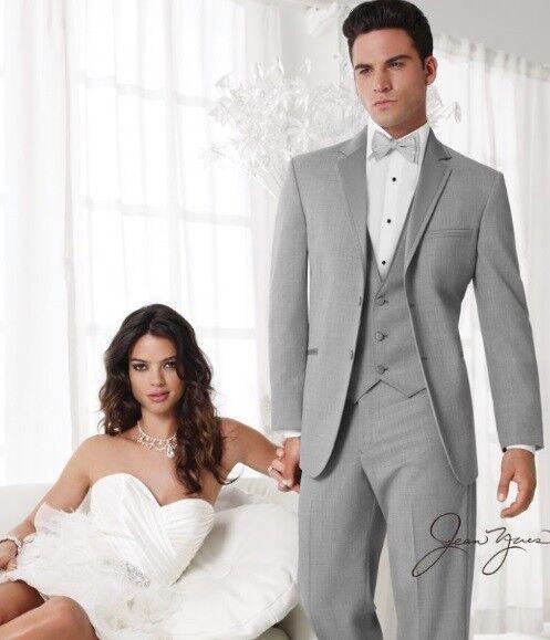 Jean Yves Heather Grau Twilight  tuxedo 40R/34   Prom/wedding