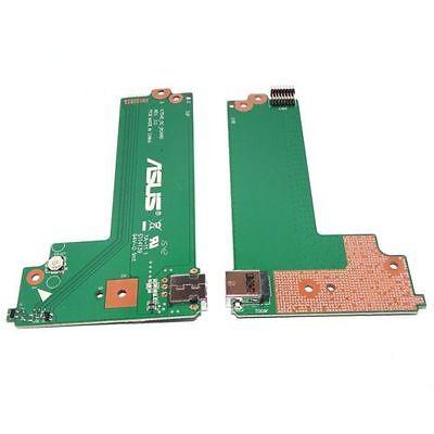 For ASUS X75A X75VD F75VD X75VB DC IN POWER JACK BUTTON BOARD  60-NC0DC1000-C01