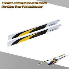 Carbon Fiber 700mm Main Blades for Align Trex 700 RC Helicopter Drone Z4R2
