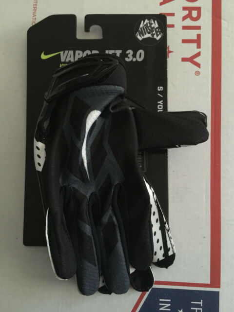 Nike YOUTH Vapor Jet 3.0 Advanced Skill Football Gloves w  MagniGrip  GF0486-001 13889994d51e