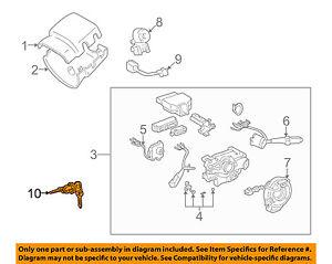 toyota oem 95 03 tacoma ignition lock cylinder 6905735070 ebay