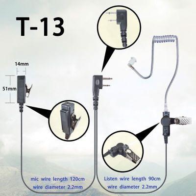 Earpiece Headset  Fit ICOM IC-F4000 F4001 F4002 F4003 F4011 radio