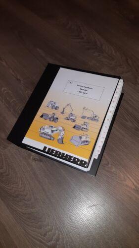 Liebherr Radlader L506 L508 L510 1990 REPARATURHANDBUCH WERKSTATTHANDBUCH