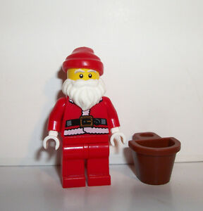 LEGO SANTA CLAUS MINIFIGURE HOLIDAY CHRISTMAS FIGURE