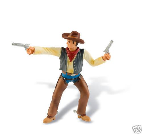 Bullyland 80671 Cowboy mit Pistole 10 cm Western