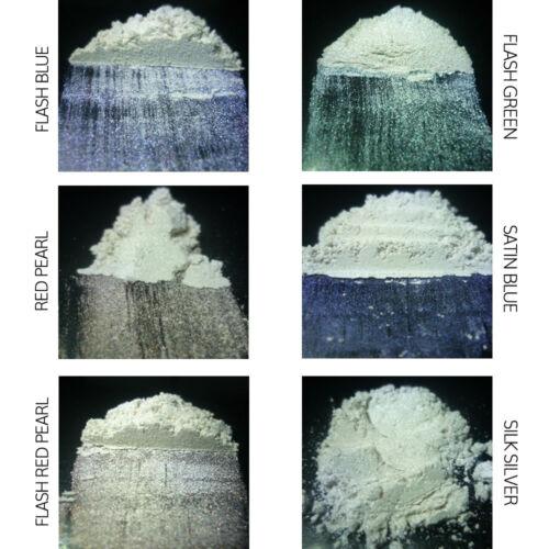 Probador Pack de 6 X 25g pigmentos Nacarado