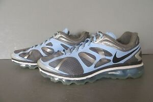Nike Air Max+ Cool Grey/Anthracite Womens Running Shoes 487679-002 Size 10.5