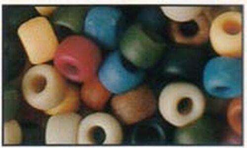 cheveux Brading idéal pour clips de tétine bracelets 100 mixte perles poney americana