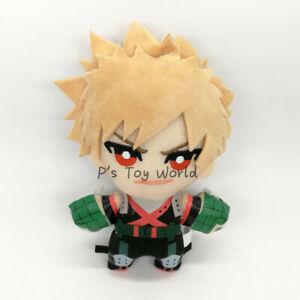 My Hero Academia 15CM Bakugou Katsuki Yellow Plush Doll Figure Toy