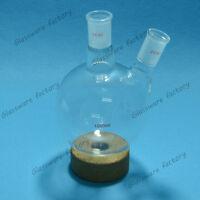 1000ml,24/40,two necks,Round Bottom Glass Flask,Lab Chemistry Flask 24/40