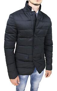 Veste Doudoune Homme Diamond Noir Hivernal Casual Élégant Taille S à 3XL
