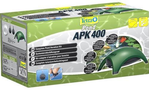 Tetra Pond APK APK APK 400 Air Pump Kit Gartenteichbelüftungsset 8760a2