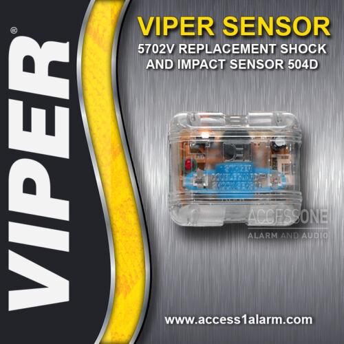 Viper 5702V Replacement 504D Stinger Double Guard Shock Sensor Viper 5901